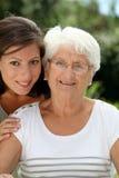 Family generation Stock Image