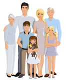 Family generation portrait Royalty Free Stock Image