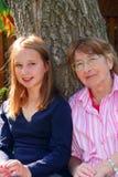 Family Generations Stock Photo