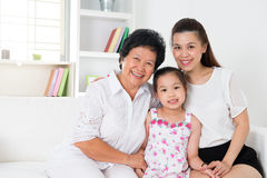 Family generations. royalty free stock images