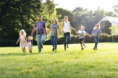 Family Generations Parenting Togetherness Relaxation Concept Royalty Free Stock Photos