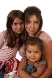 Family of Girls Royalty Free Stock Image