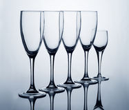 Family Glass Royalty Free Stock Image
