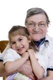 Family Grandma Stock Photography