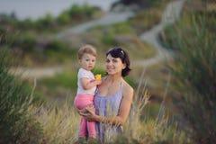 Family in Grass Stock Photos