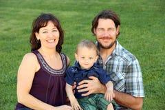 Family grass Royalty Free Stock Photo