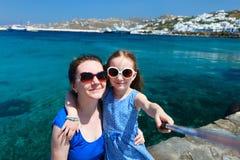 Family in Greece Royalty Free Stock Photos