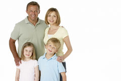 Family Group Happy Together Royalty Free Stock Photos