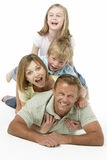 Family Group Happy Together Royalty Free Stock Image