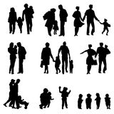 Family groups Stock Photography