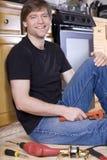 Family handyman Royalty Free Stock Image