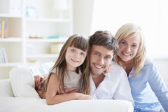 Family Happiness Royalty Free Stock Photos