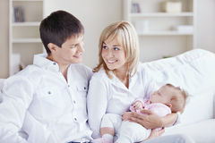 Family Happiness Royalty Free Stock Photography