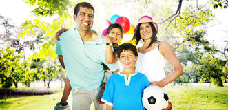 Family Happiness Parents Holiday Vacation Activity Concept Royalty Free Stock Photos