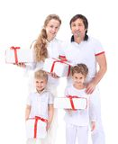 Family, happiness and people concept Stock Image