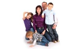 family happy Στοκ εικόνα με δικαίωμα ελεύθερης χρήσης