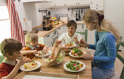 Family having dinner together. Stock Photography