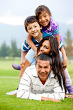 Family having fun Royalty Free Stock Photo