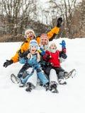 Family having fun Stock Images