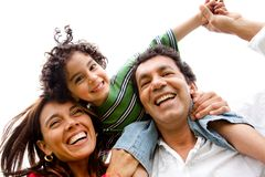 Family having fun Stock Photography