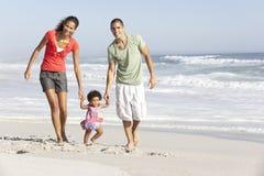 Family Having Fun On Beach Royalty Free Stock Image