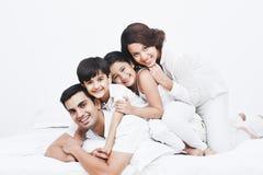 Family having fun Royalty Free Stock Image