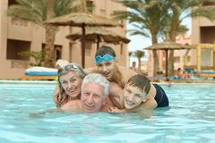 Family having fun Stock Image