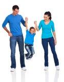 Family having fun Royalty Free Stock Photography