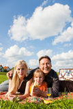 Family having picnic Royalty Free Stock Image