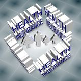 Family health insurance Stock Photo