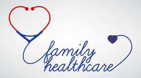 Family healthcare Royalty Free Stock Photography