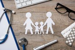 Family healthcare Stock Photos