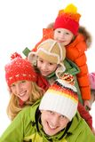 Family heap Royalty Free Stock Images