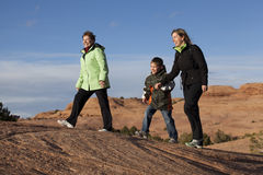 Family Hike Stock Photography