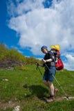 Family hike Stock Photo