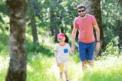 Family hiking Royalty Free Stock Photos