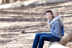 Family hiking Royalty Free Stock Photography