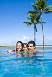 Family Holiday Royalty Free Stock Photography