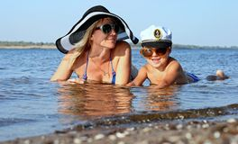 Family holiday Royalty Free Stock Images