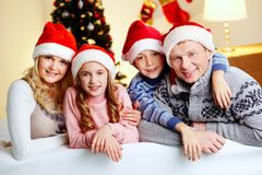 Family holiday Stock Photography