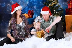 Family holidays royalty free stock image