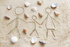 Family holidays Stock Photo