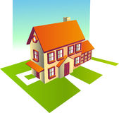 Family Home Stock Images