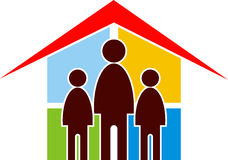 Family home Stock Photo