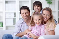 Family home Royalty Free Stock Photography