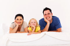 Family at home Royalty Free Stock Photos