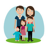 Family and home Royalty Free Stock Images