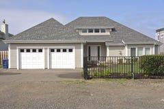 Family home on the Oregon coast. Family home and garden on the Oregon coast Stock Image
