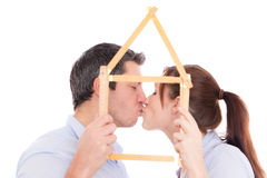 Family Home Planner Royalty Free Stock Images