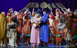 "The family of hope-Dance drama ""The Dream of Maritime Silk Road"" Stock Photo"